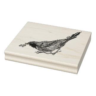 Bird Tattoo Rubber Stamp