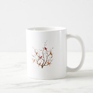 Bird Tree Coffee Mugs