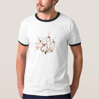 Bird Tree T-shirts