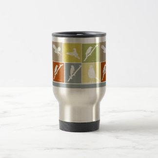 Bird Variety Stainless Steel Travel Mug