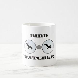 bird wading Cher Basic White Mug