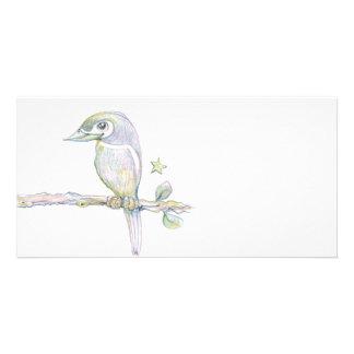Bird Watch Customized Photo Card