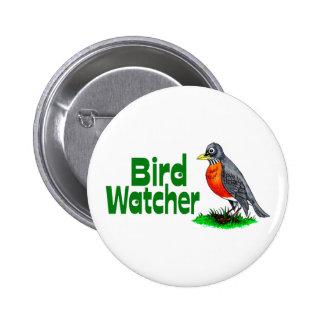 Bird Watcher 6 Cm Round Badge