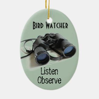 Bird Watcher Christmas Ornament