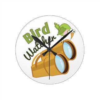 Bird Watcher Wallclocks