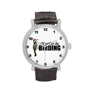 Bird Watcher Wrist Watch
