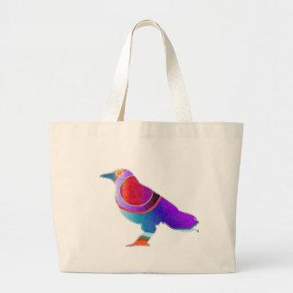 BIRD Watcher KIDS Exotic Wild Life Graphic Art Canvas Bag