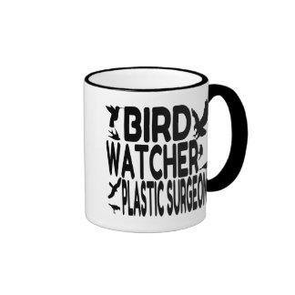 Bird Watcher Plastic Surgeon Ringer Mug