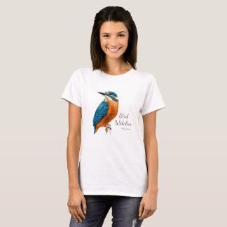 Bird Watcher The Kingfisher Nature T-Shirt