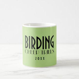 Bird Watchers Cheep Trills Mugs
