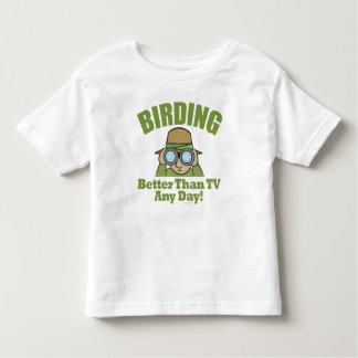 Bird Watching Toddler T-Shirt
