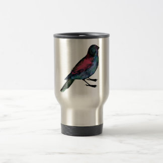 Bird Watercolour Mug