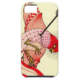 bird with arrow tough iPhone 5 case