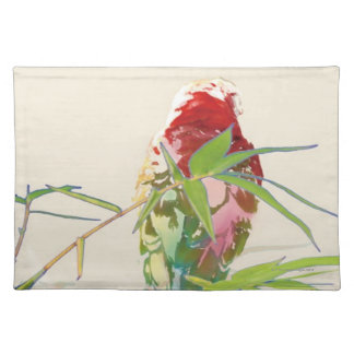 Bird with Bamboo Leaves Placemat