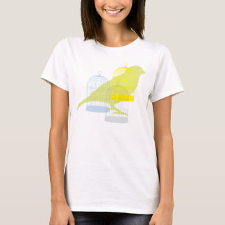 Bird with cages T-Shirt