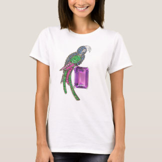 Bird with jewel Vintage T-shirt