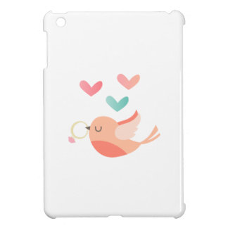Bird With Wedding Ring iPad Mini Cover