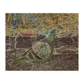 BIRD wood panel Wood Print