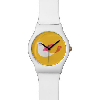Bird-Yellow Watch