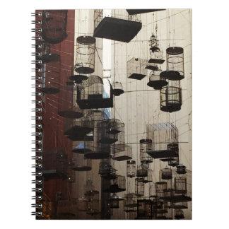 Birdcage alley notebook