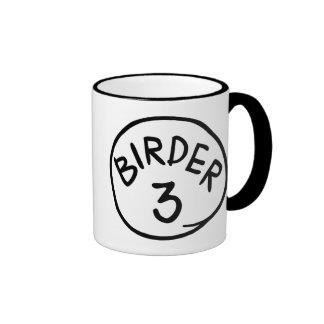 Birder 3 ringer mug