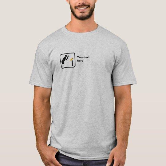 Birder / Bird Watcher Small Logo -- Customisable
