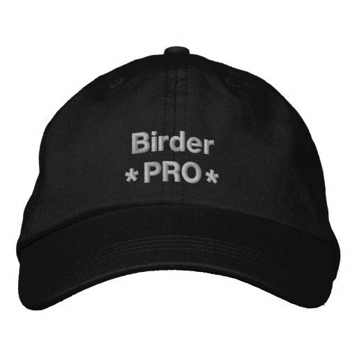 Birder Pro Embroidered Hats