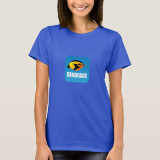 BirdFace App t-shirt (Ladies)