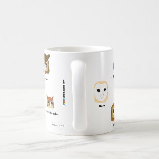 BirdFace Owl Mug (with labels)