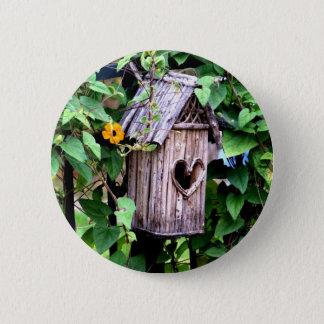 Birdhouse 6 Cm Round Badge