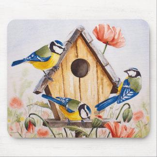 Birdhouse Mousepads