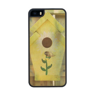 Birdhouse Carved® Maple iPhone 5 Slim Case