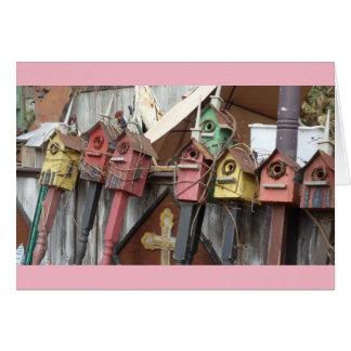 Birdhouses Card