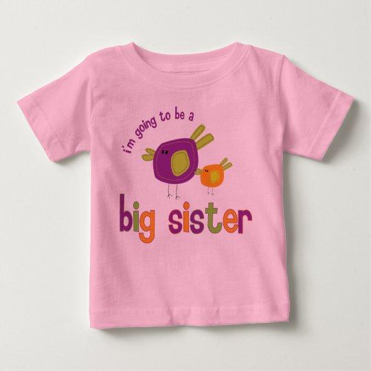 birdie big sister back baby T-Shirt