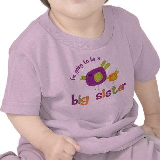 birdie big sister back shirt