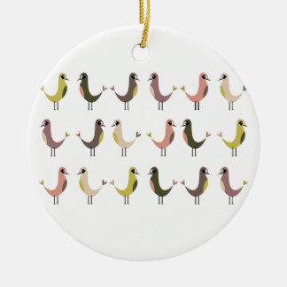 Birdie Christmas Ornaments