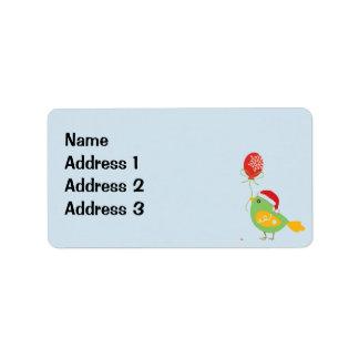 Birdie Gift Address Labels