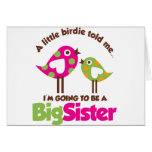 Birdie Going To Be A Big Sister Greeting Card