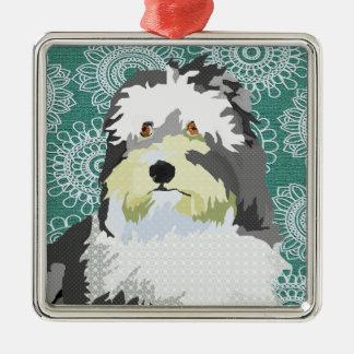 Birdie Green Christmas Ornament