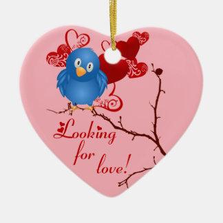 Birdie Love Ornament