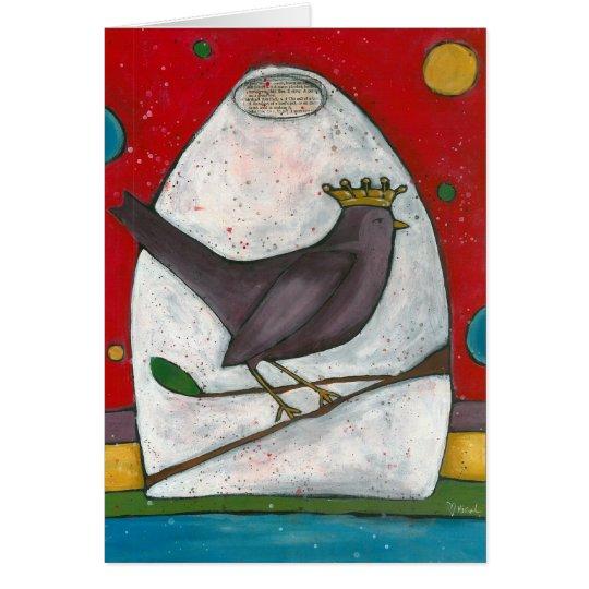 Birdie Notecard