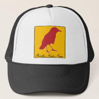 birdie num num trucker hat