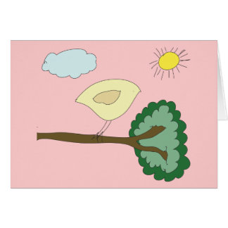 "Birdie ""Oh, Happy Day!"" Card"