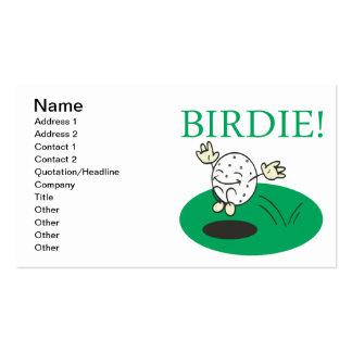 Birdie Pack Of Standard Business Cards