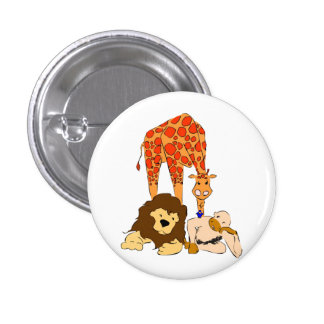 Birdie s Search for Hippo Pinback Button
