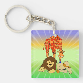 Birdie s Search for Hippo Acrylic Key Chains