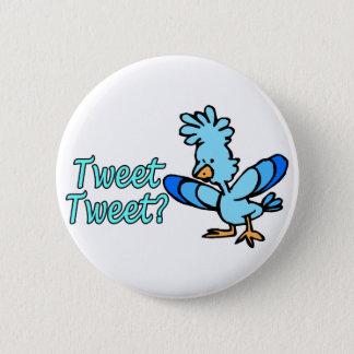 Birdie Tweet Tweet 6 Cm Round Badge