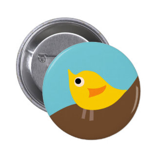 BirdieA4 Pinback Button