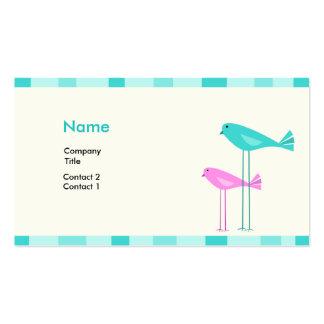 Birdies Profile Card Business Card Templates