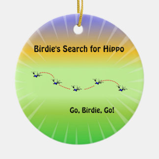 Birdie's Search for Hippo Christmas Tree Ornaments